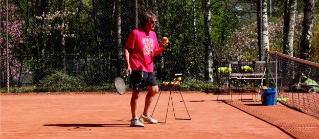 professeur de tennis